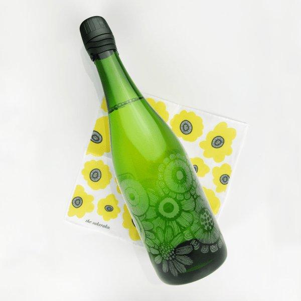 画像1: 【2本以上ご購入で10%OFF】スパークリング日本酒 夏日_微発砲(720ml)-NS