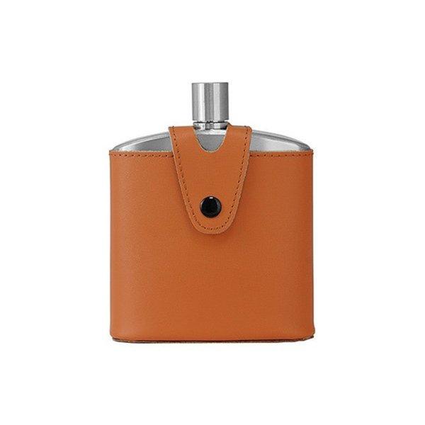 画像3: 酒楽。オリジナル スキットル酒ボトル 100ml 革ケース(本革)・ギフトBOX付き