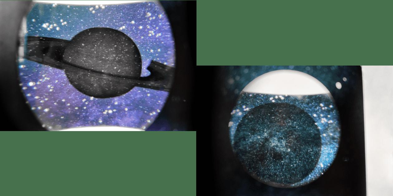 宇宙イメージの日本酒